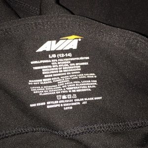 Avia Pants - Avia mesh crops